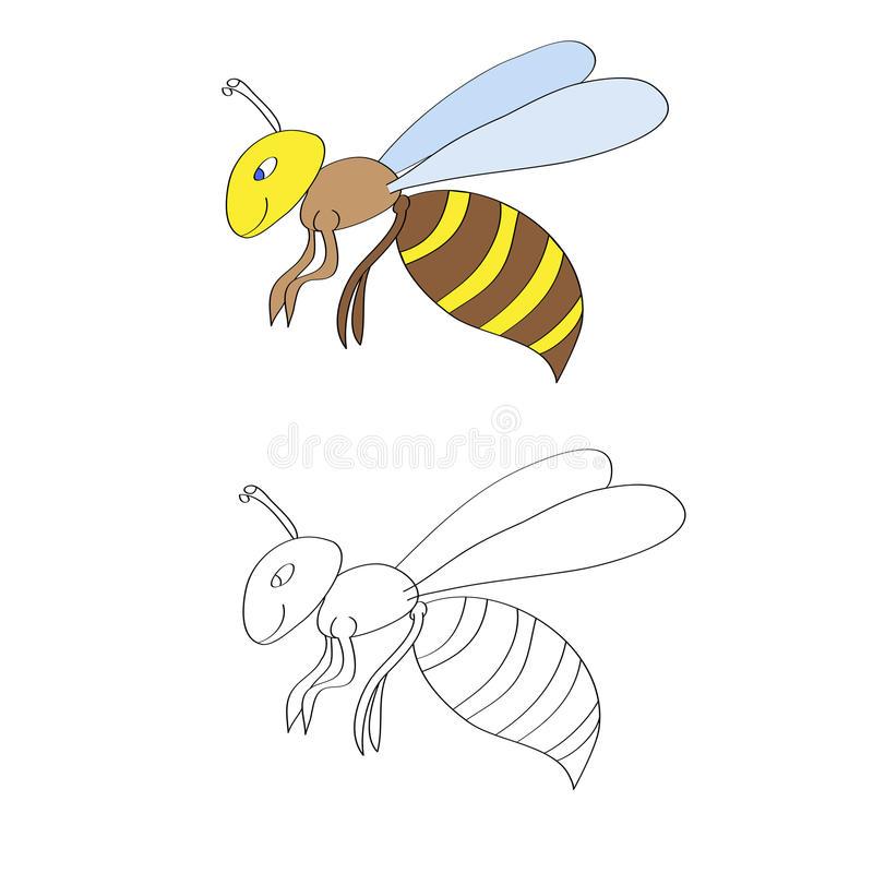 Красивые и прикольные картинки, рисунки осы для детей 5