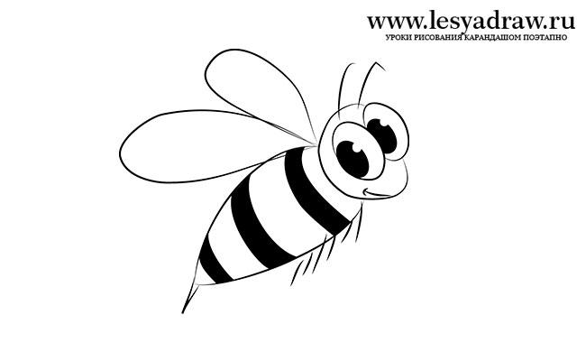 Красивые и прикольные картинки, рисунки осы для детей 6