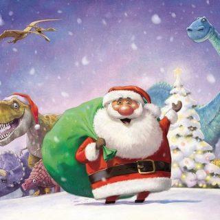 Красивые картинки и рисунки для детского сада на Новый год 14