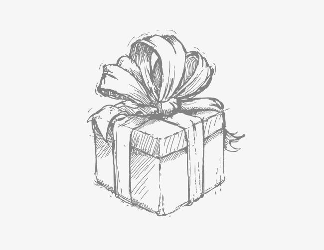 Красивые картинки и рисунки подарков или подарка для срисовки 6