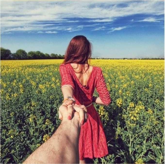 Красивые картинки на аву девушка тянет парня за руку - подборка 3