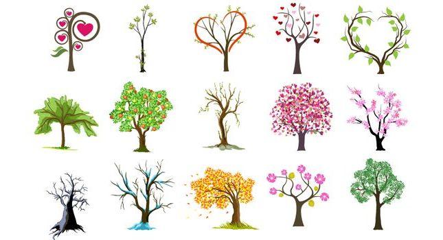 Красивые картинки с деревьями для детей и малышей - подборка 20 фото 14