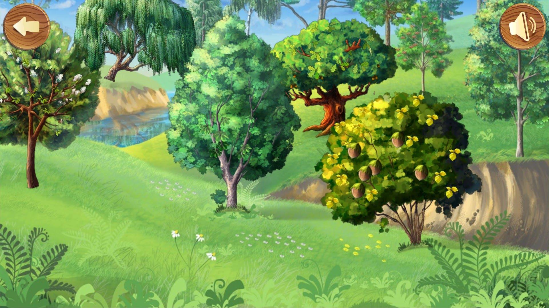 Красивые картинки с деревьями для детей и малышей - подборка 20 фото 16