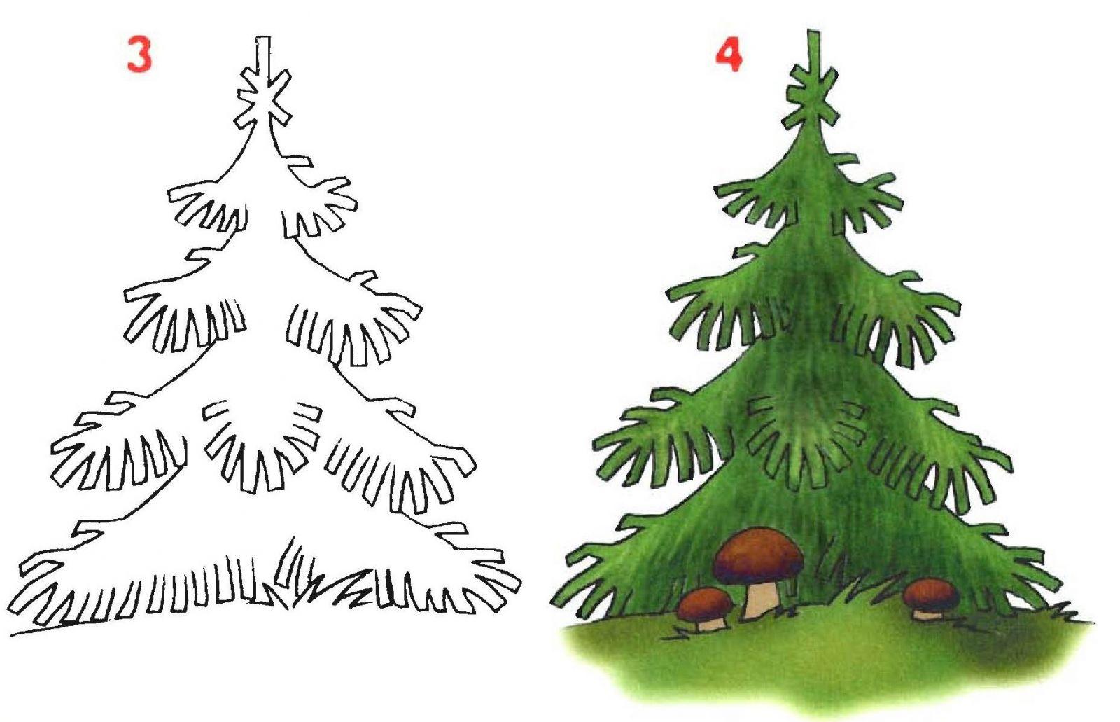 Красивые картинки с деревьями для детей и малышей - подборка 20 фото 18