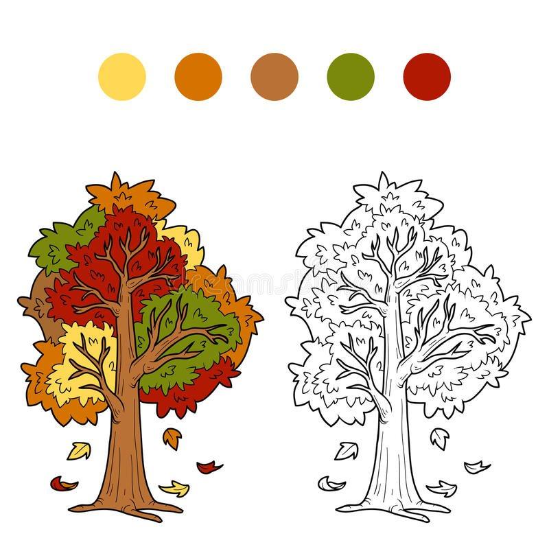 Красивые картинки с деревьями для детей и малышей - подборка 20 фото 23