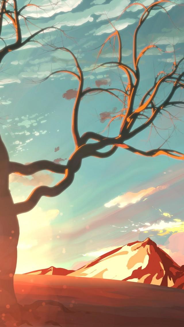 Красивые картинки с деревьями для детей и малышей - подборка 20 фото 5