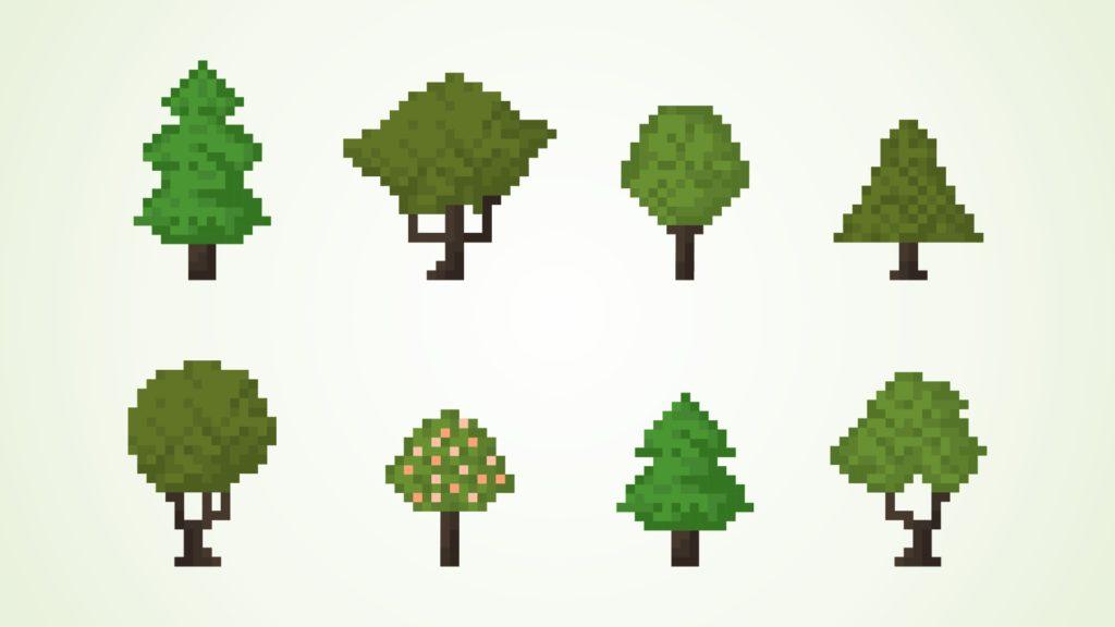 Красивые картинки с деревьями для детей и малышей - подборка 20 фото 6