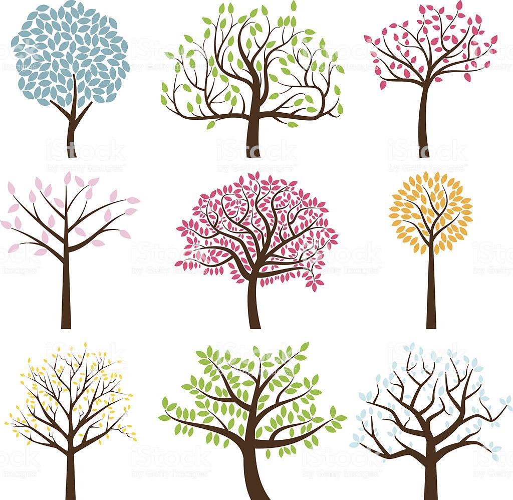 Красивые картинки с деревьями для детей и малышей - подборка 20 фото 9