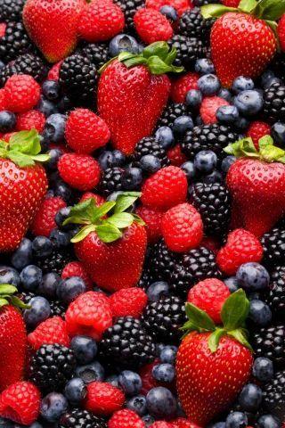Красивые картинки фруктов для заставки телефона - подборка 11