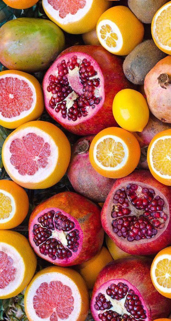 Красивые картинки фруктов для заставки телефона - подборка 9