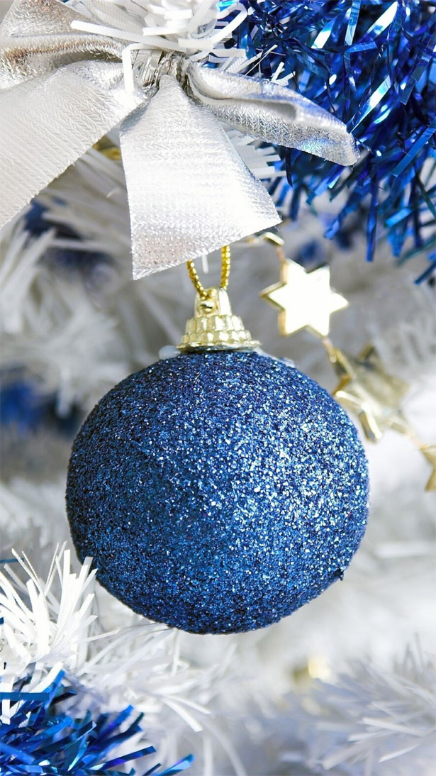 Красивые новогодние и рождественские картинки на телефон 14