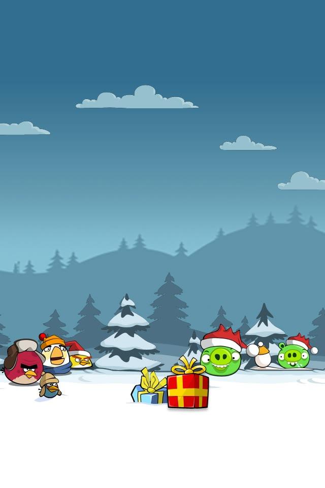 Красивые новогодние и рождественские картинки на телефон 6