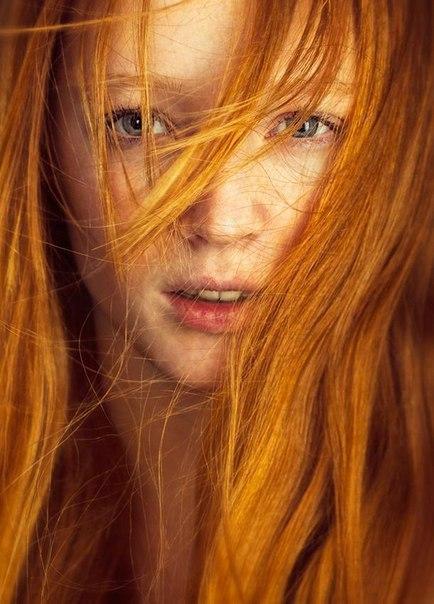Красивые фото, картинки девушек с рыжими волосами - подборка 16