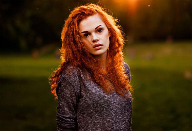 Красивые фото, картинки девушек с рыжими волосами - подборка 20