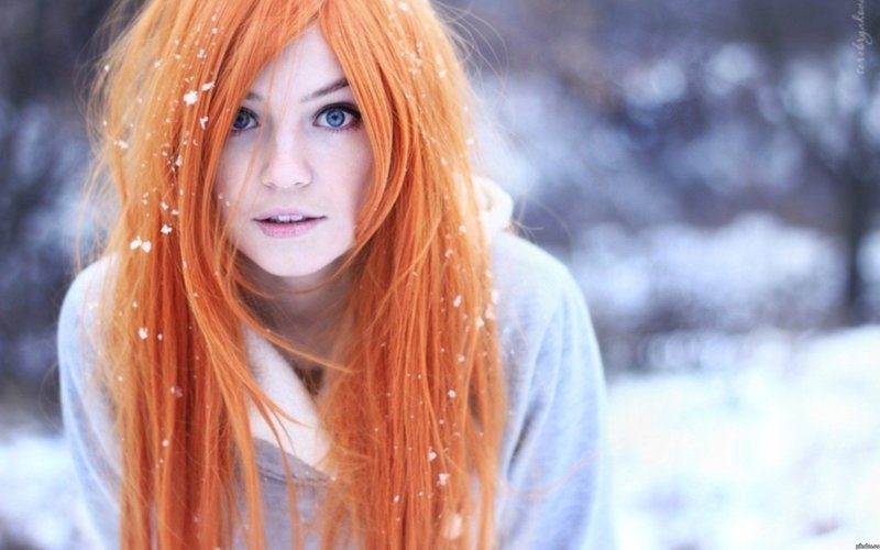 Красивые фото, картинки девушек с рыжими волосами - подборка 23