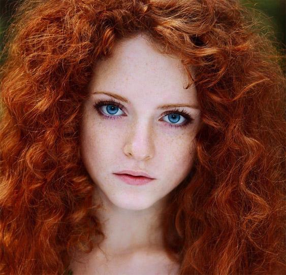 Красивые фото, картинки девушек с рыжими волосами - подборка 24