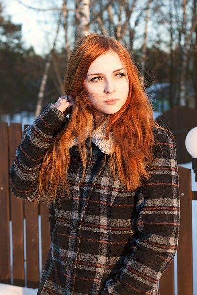 Красивые фото, картинки девушек с рыжими волосами - подборка 3