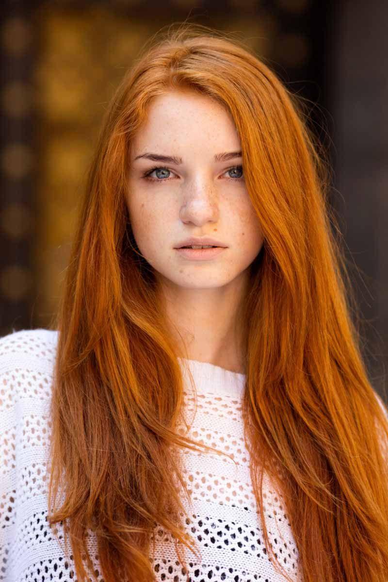 Красивые фото, картинки девушек с рыжими волосами - подборка 4