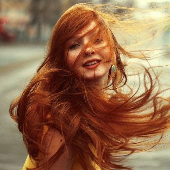 Красивые фото, картинки девушек с рыжими волосами - подборка 5