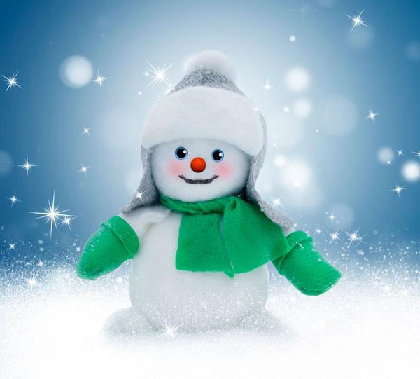 Красивый снеговик - картинки и рисунки. Подборка картинок снеговиков 16