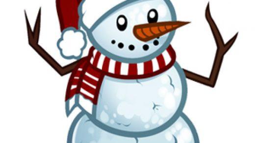 Красивый снеговик - картинки и рисунки. Подборка картинок снеговиков 19