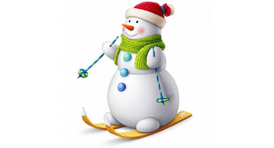 Красивый снеговик - картинки и рисунки. Подборка картинок снеговиков 23