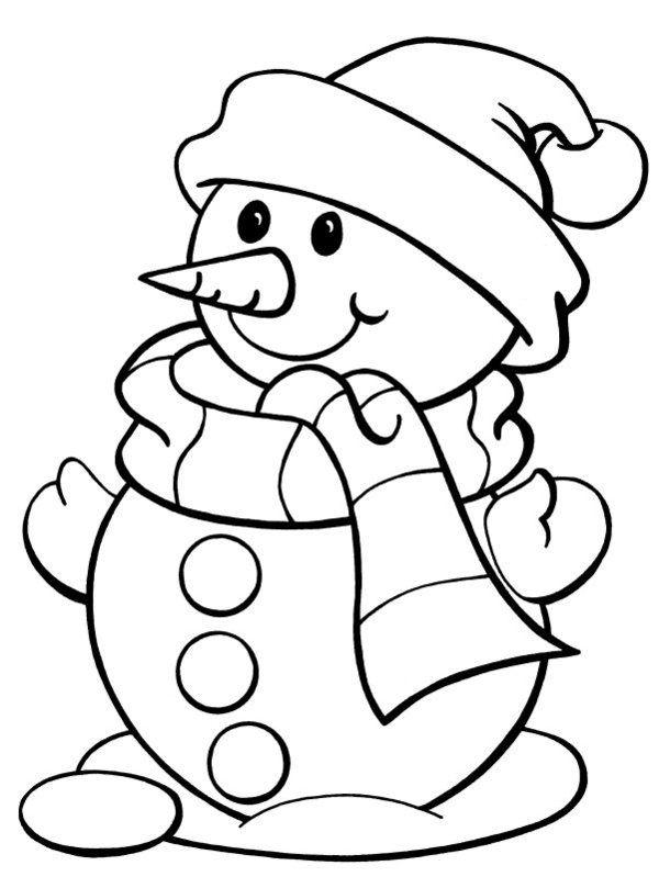 Красивый снеговик - картинки и рисунки. Подборка картинок снеговиков 3