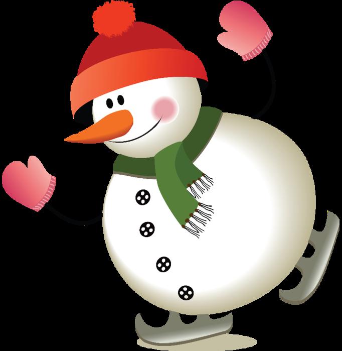 Красивый снеговик - картинки и рисунки. Подборка картинок снеговиков 9
