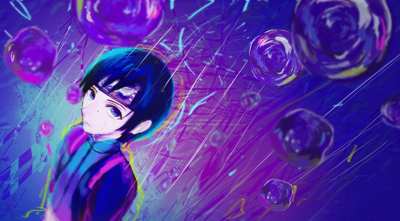 Крутые и классные картинки, арты Сай из Наруто аниме - подборка 20