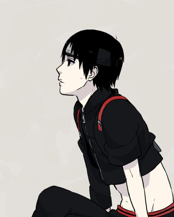 Крутые и классные картинки, арты Сай из Наруто аниме - подборка 8