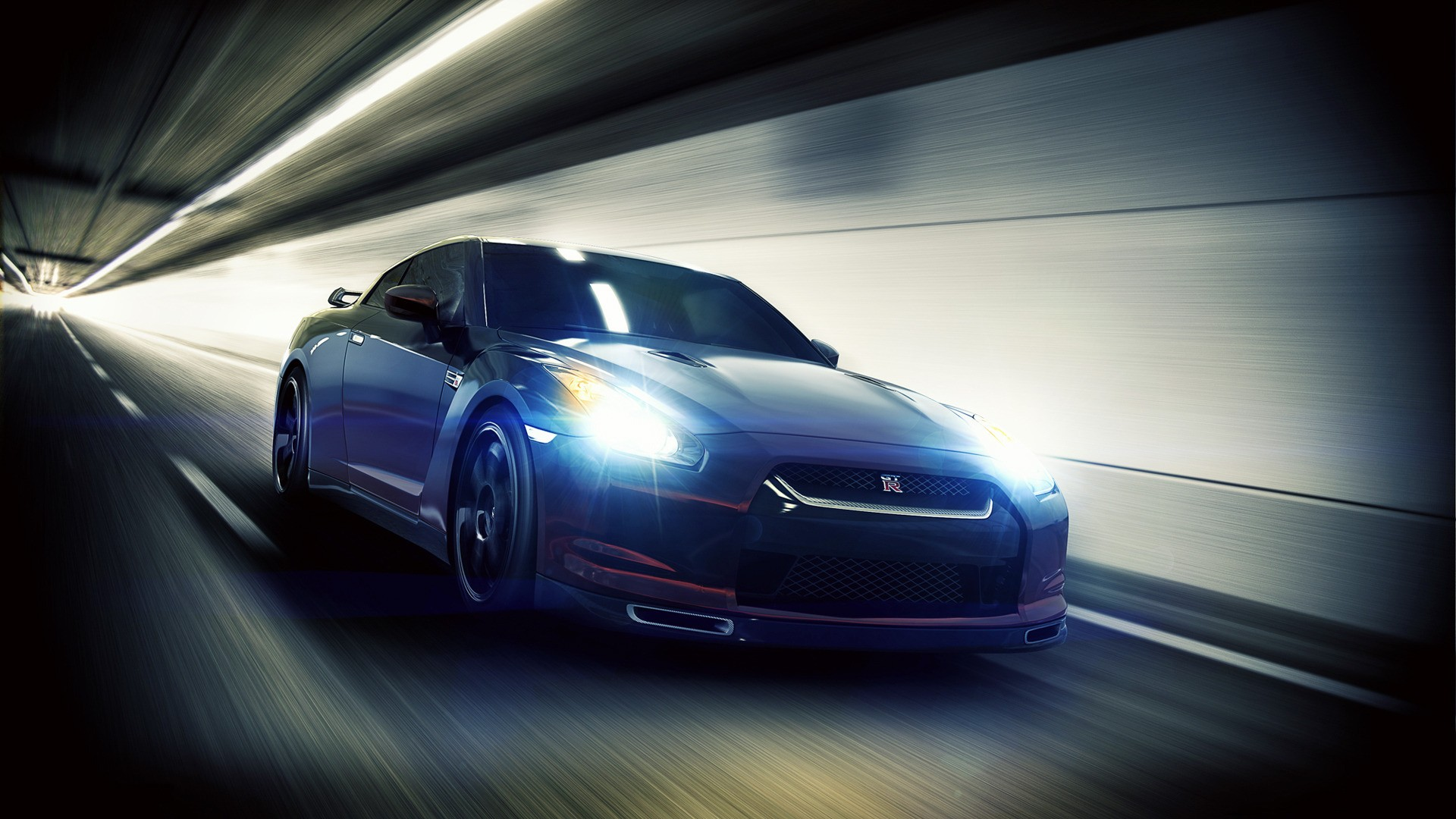 Невероятные и красивые обои, картинки - Nissan GT-R 19