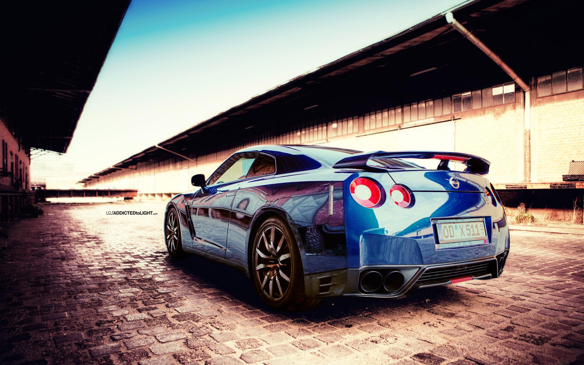 Невероятные и красивые обои, картинки - Nissan GT-R 5