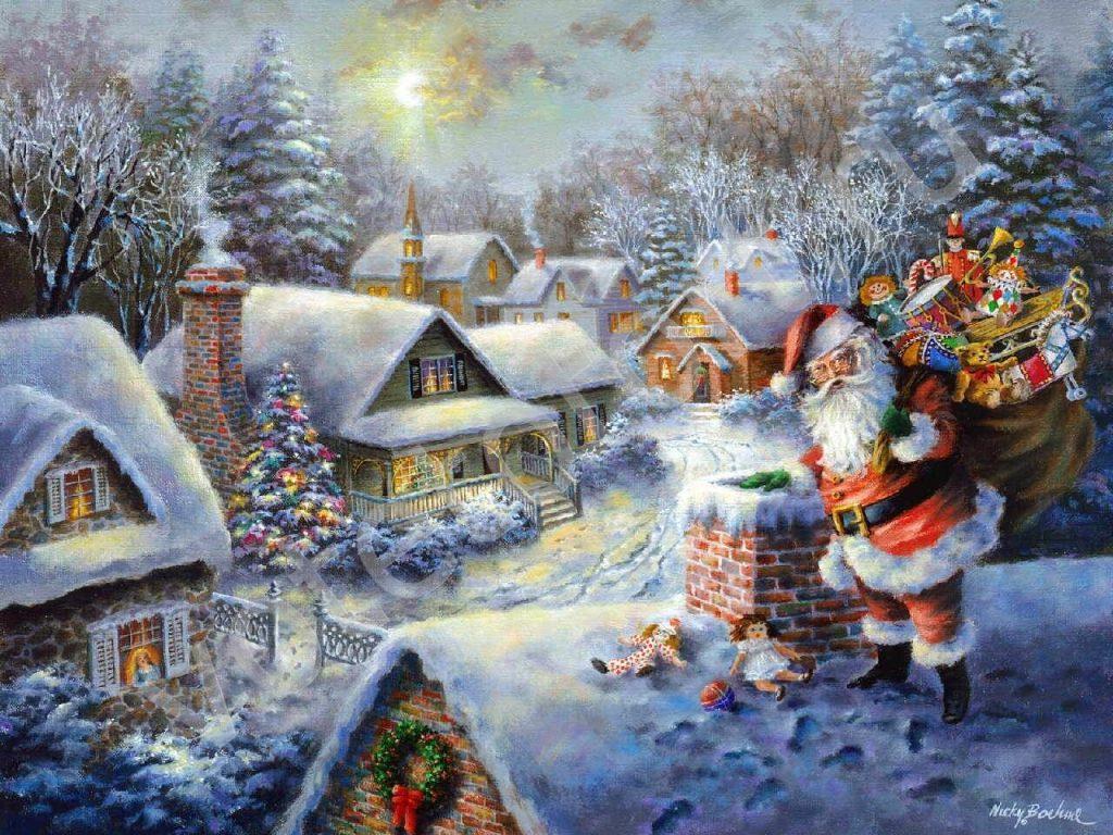 Новогодние картинки для детей и малышей - красивая подборка 11
