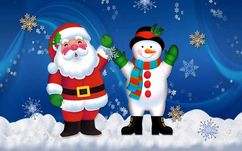 Новогодние картинки для детей и малышей - красивая подборка 14