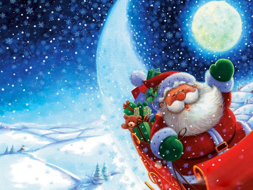 Новогодние картинки для детей и малышей - красивая подборка 2
