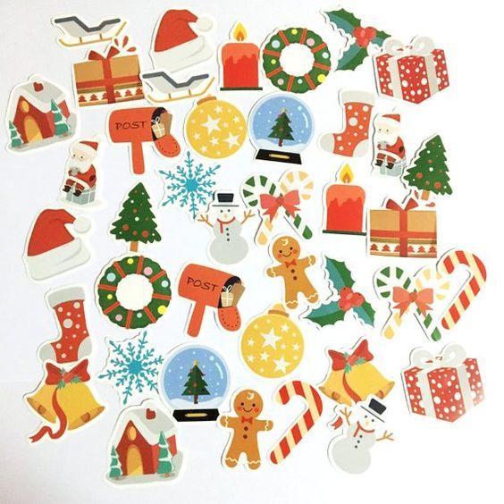 Новый год и Рождество - красивые и интересные векторные картинки 11