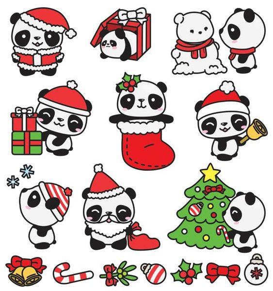Новый год и Рождество - красивые и интересные векторные картинки 13