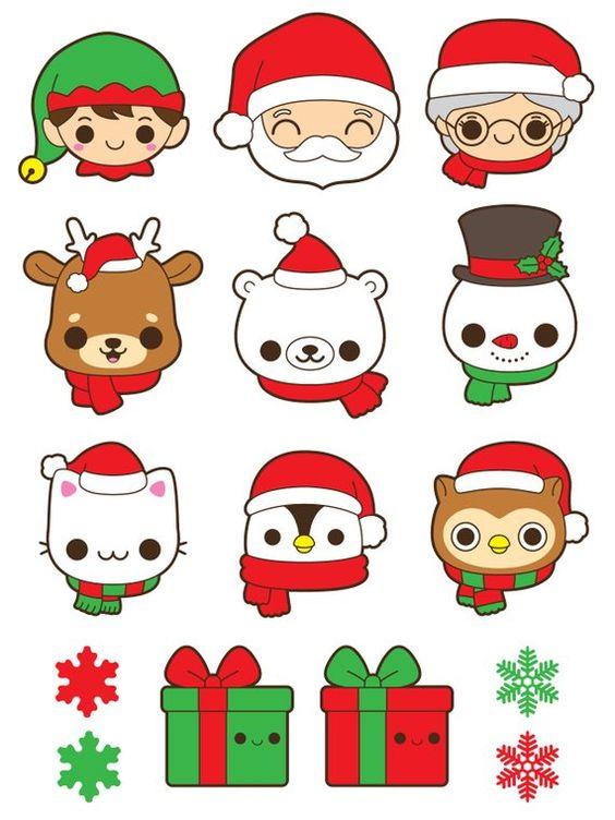 Новый год и Рождество - красивые и интересные векторные картинки 15