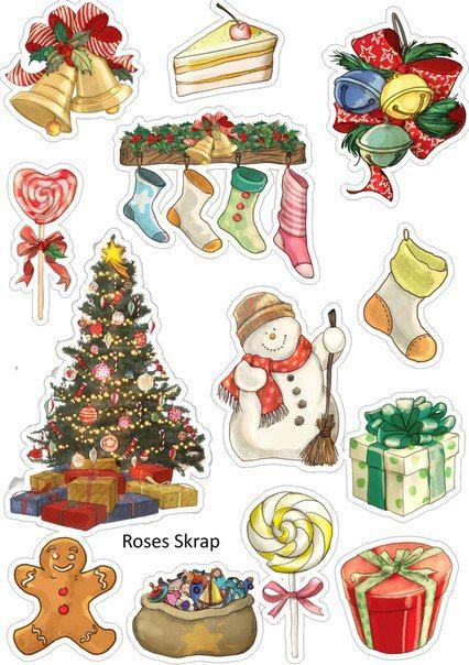 Новый год и Рождество - красивые и интересные векторные картинки 19