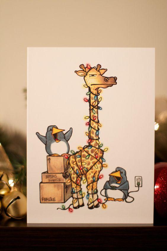 Новый год и Рождество - красивые и интересные векторные картинки 2