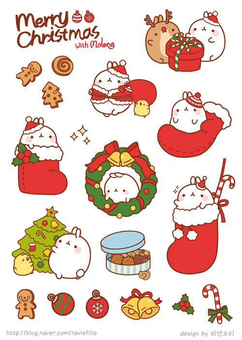 Новый год и Рождество - красивые и интересные векторные картинки 3