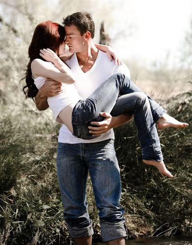 Парень держит девушку на руках - красивые фото и картинки 16