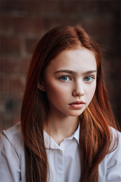 Подборка привлекательных и красивых фотографий девушек №39 4