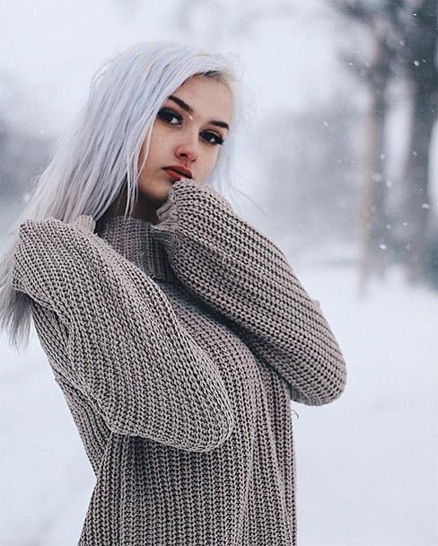Подборка привлекательных и красивых фотографий девушек №39 6