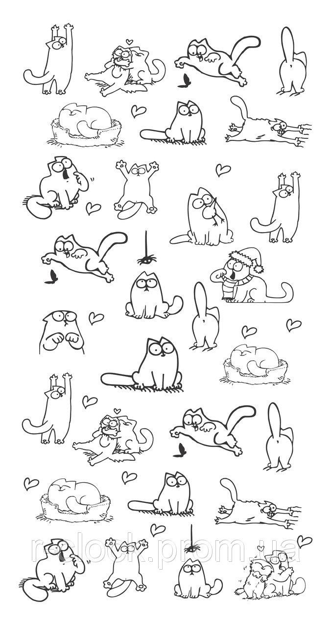 Прикольные и классные рисунки, картинки Саймон Кот - подборка 10