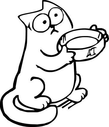 Прикольные и классные рисунки, картинки Саймон Кот - подборка 18