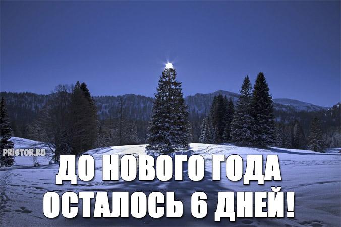 Прикольные картинки До нового года осталось 6 дней - подборка 6