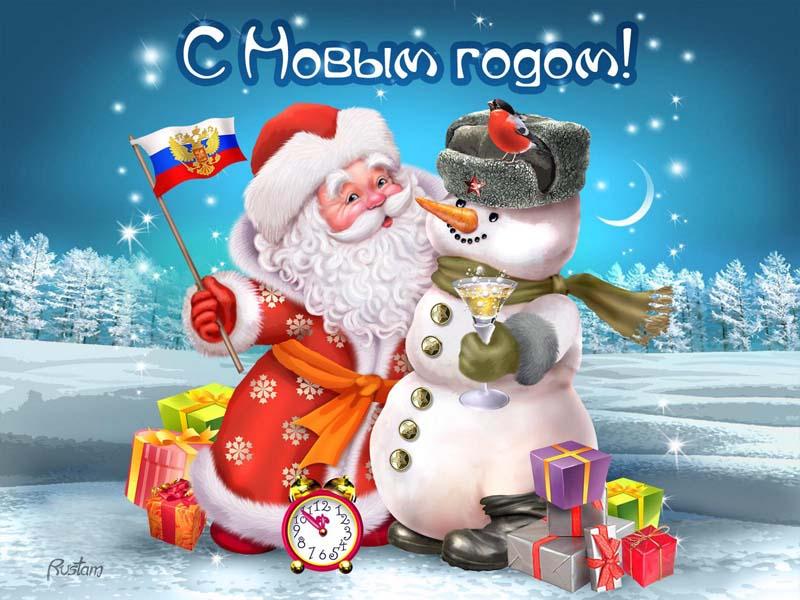 Прикольные картинки До нового года осталось 6 дней - подборка 9