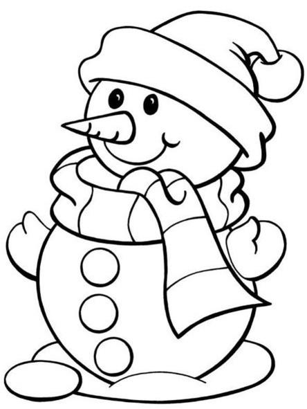 Самые красивые и прикольные новогодние рисунки для срисовки 10