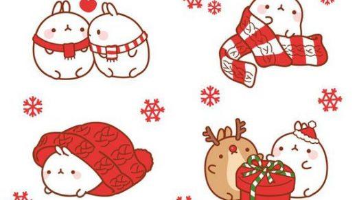 Самые красивые и прикольные новогодние рисунки для срисовки 16
